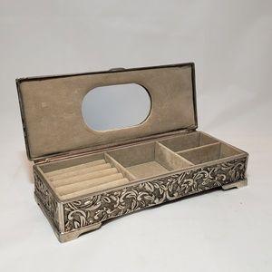 Godinger Jewelry Box Vintage Silverplate
